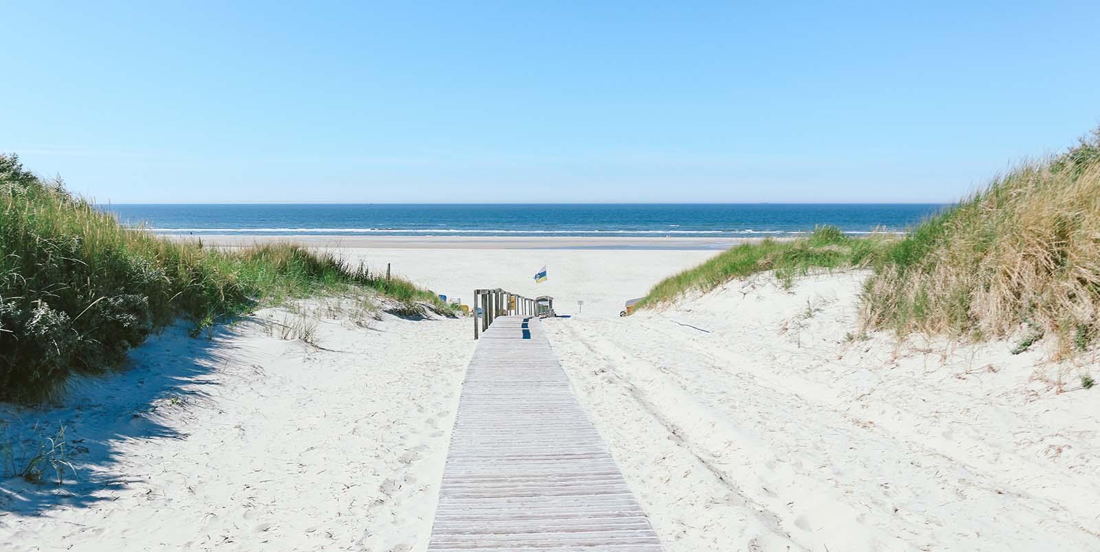 Slider home zee en strand