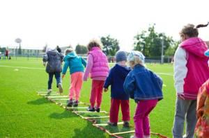 Kinderen sportdag